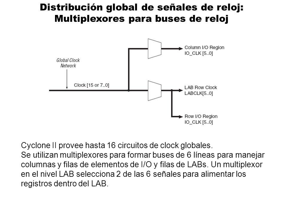 Distribución global de señales de reloj:
