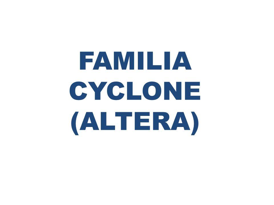 FAMILIA CYCLONE (ALTERA)