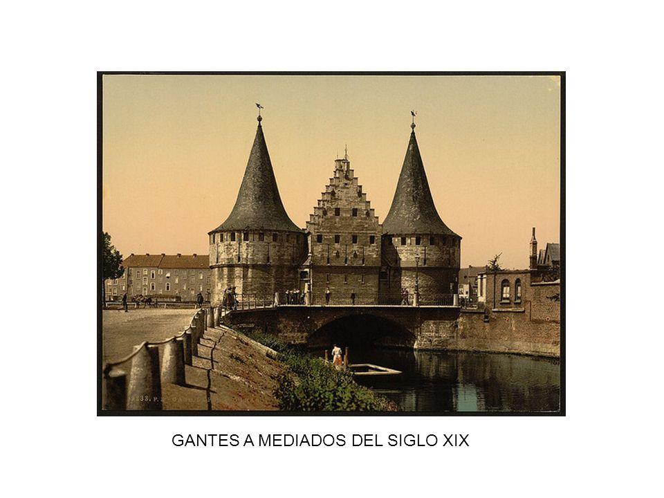 GANTES A MEDIADOS DEL SIGLO XIX