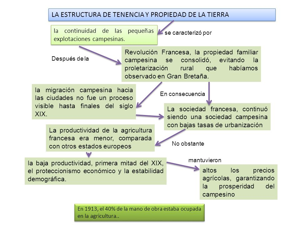 LA ESTRUCTURA DE TENENCIA Y PROPIEDAD DE LA TIERRA