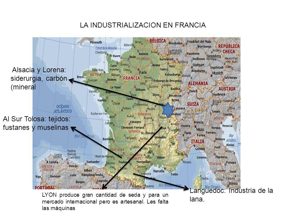 LA INDUSTRIALIZACION EN FRANCIA