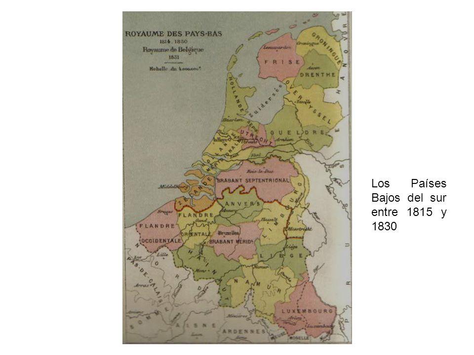Los Países Bajos del sur entre 1815 y 1830