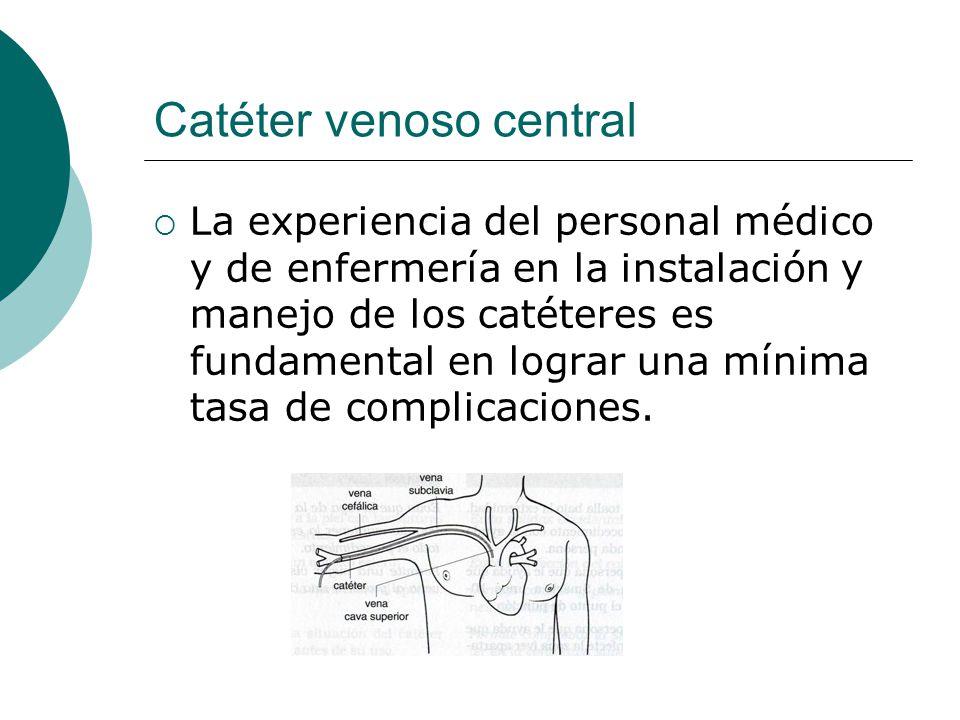 Catéter venoso central