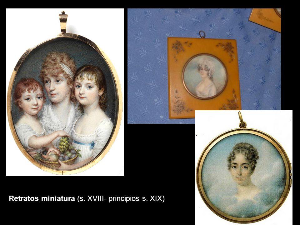 Retratos miniatura (s. XVIII- principios s. XIX)