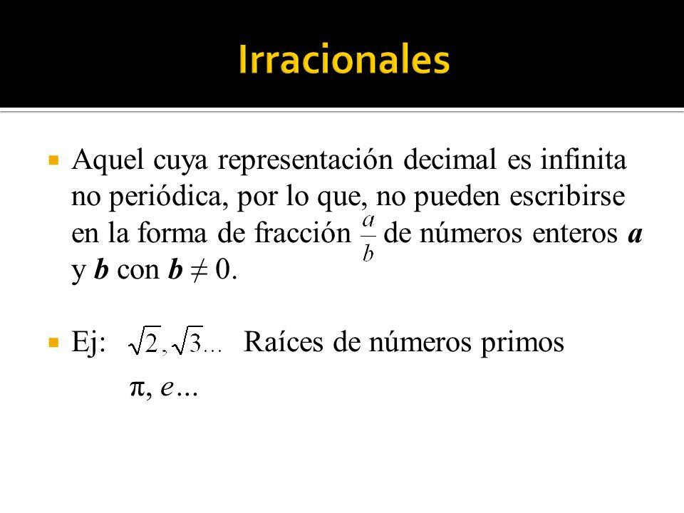 Irracionales