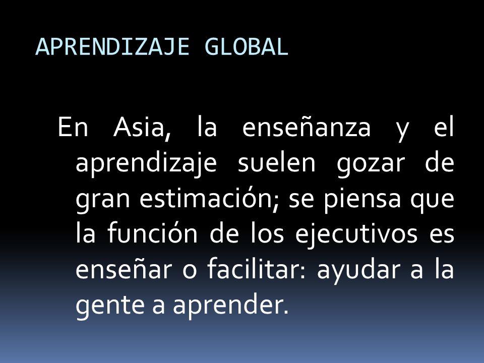 APRENDIZAJE GLOBAL