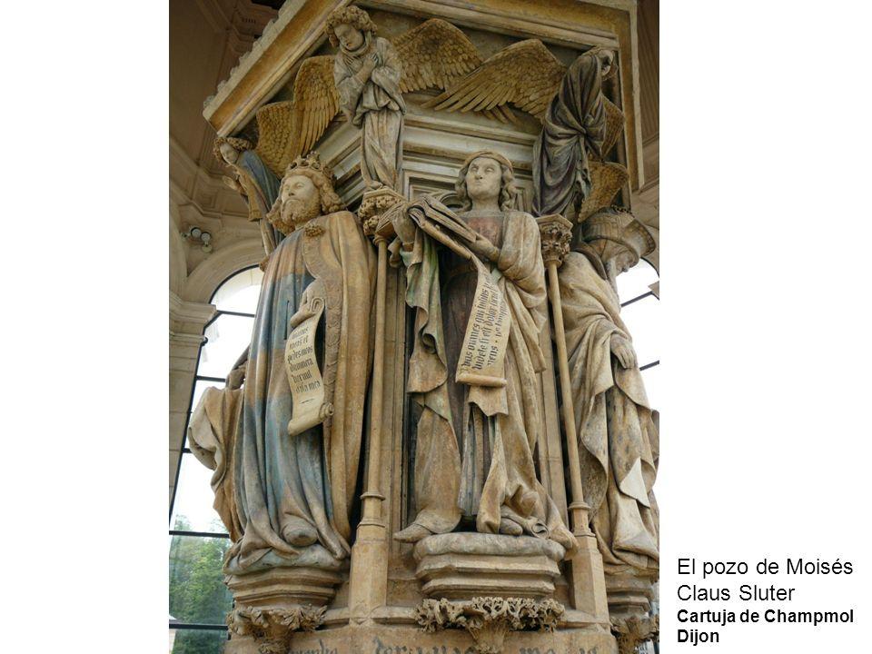 El pozo de Moisés Claus Sluter Cartuja de Champmol Dijon