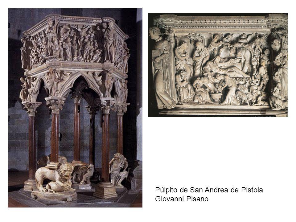 Púlpito de San Andrea de Pistoia