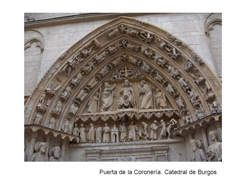 Puerta de la Coronería. Catedral de Burgos