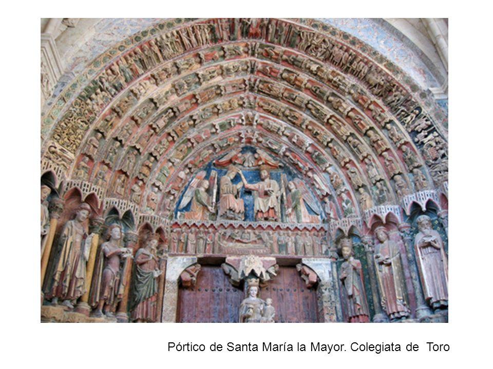 Pórtico de Santa María la Mayor. Colegiata de Toro