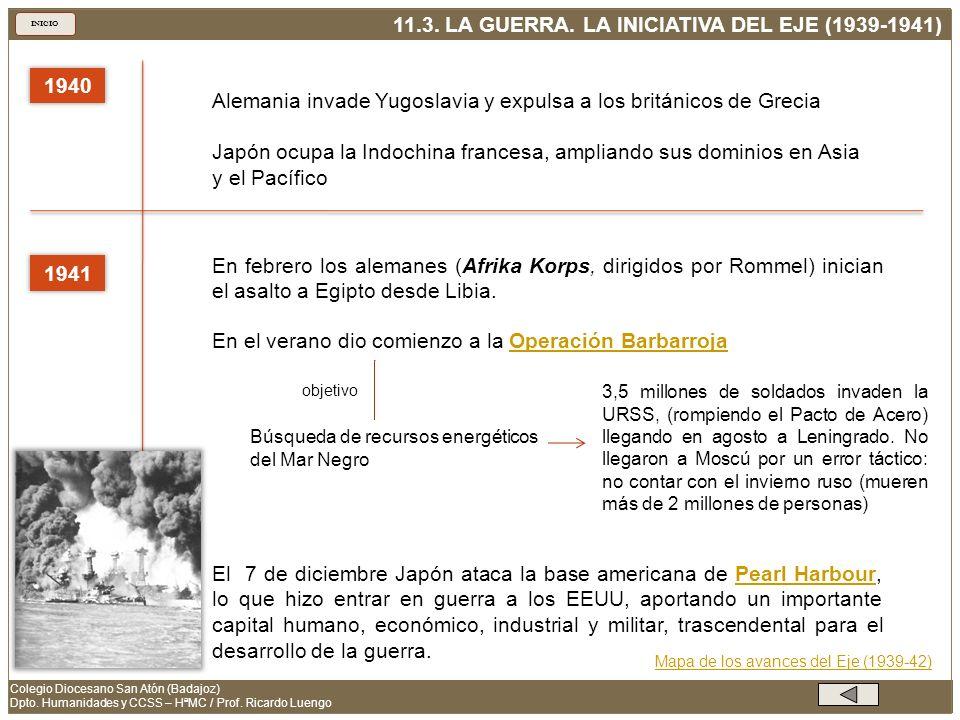 Alemania invade Yugoslavia y expulsa a los británicos de Grecia