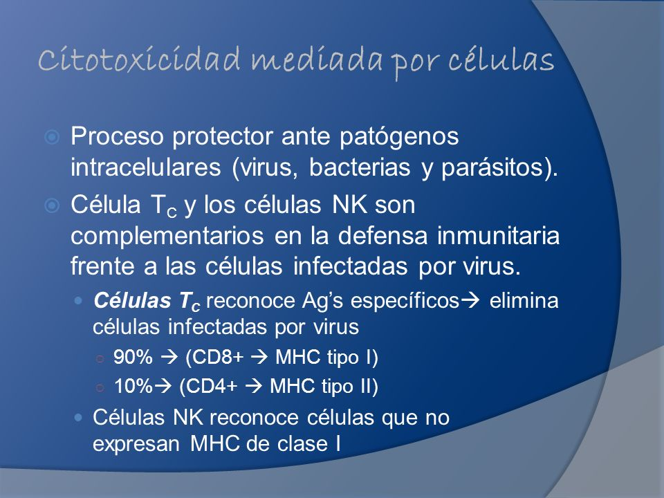 Citotoxicidad mediada por células
