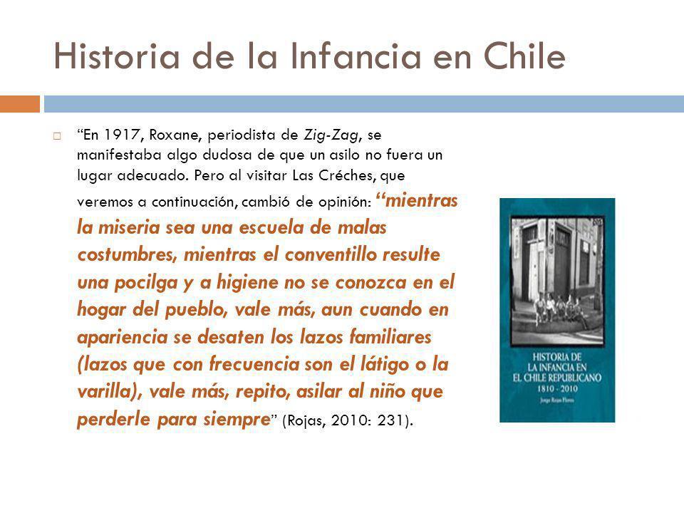 Historia de la Infancia en Chile