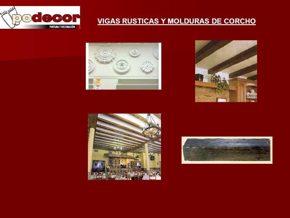 Catalogo productos pinturas accesorios decoracion - Molduras de corcho ...