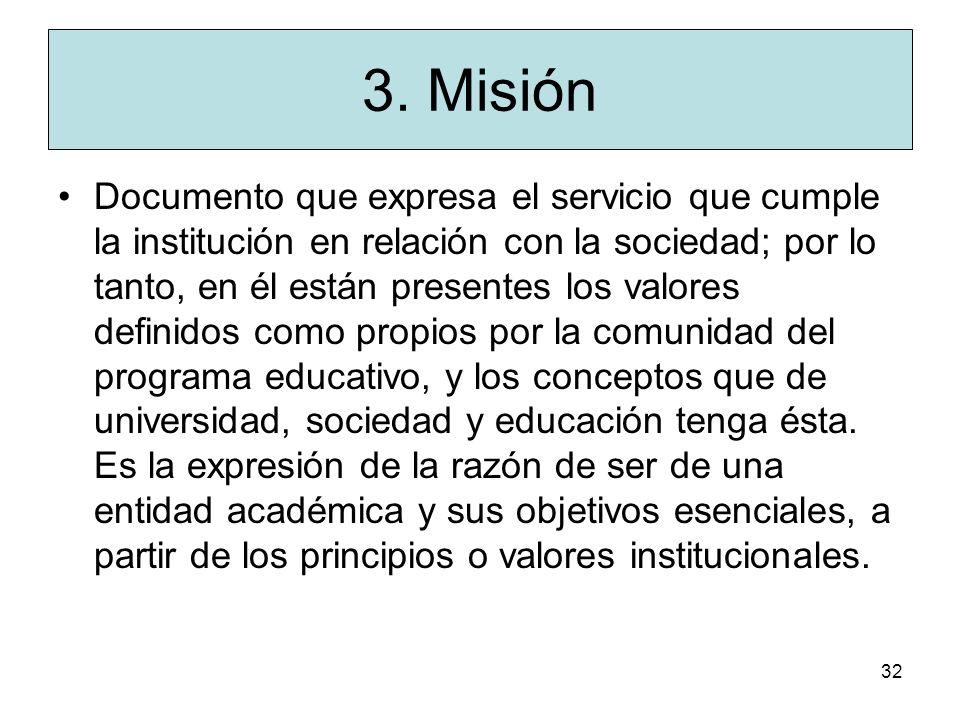 3. Misión