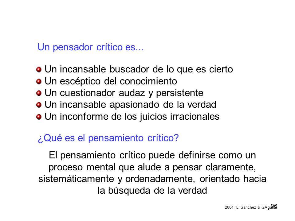 ¿Qué es el pensamiento crítico