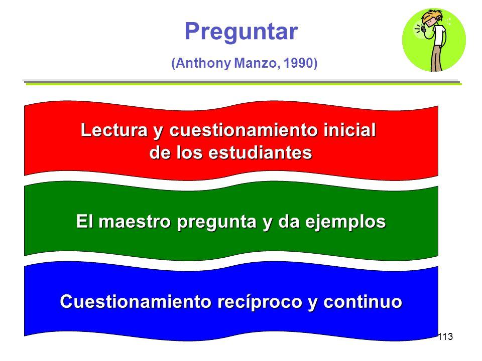 Preguntar (Anthony Manzo, 1990)