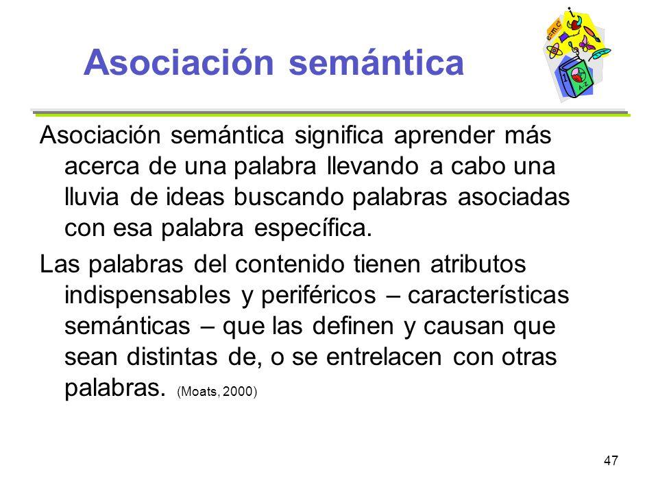 Asociación semántica