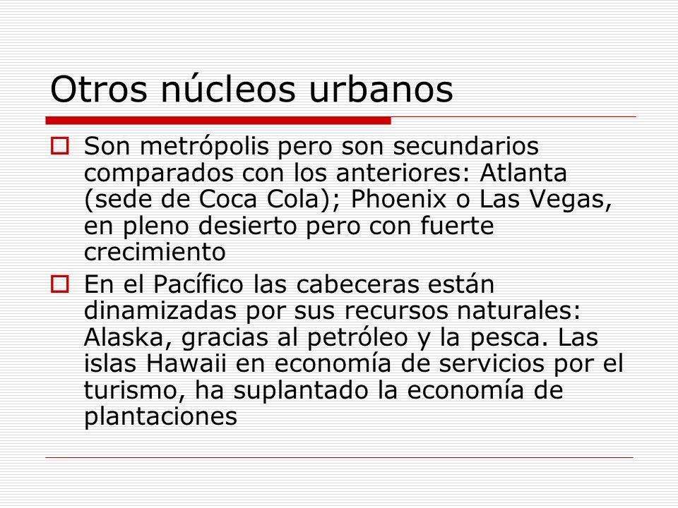 Otros núcleos urbanos