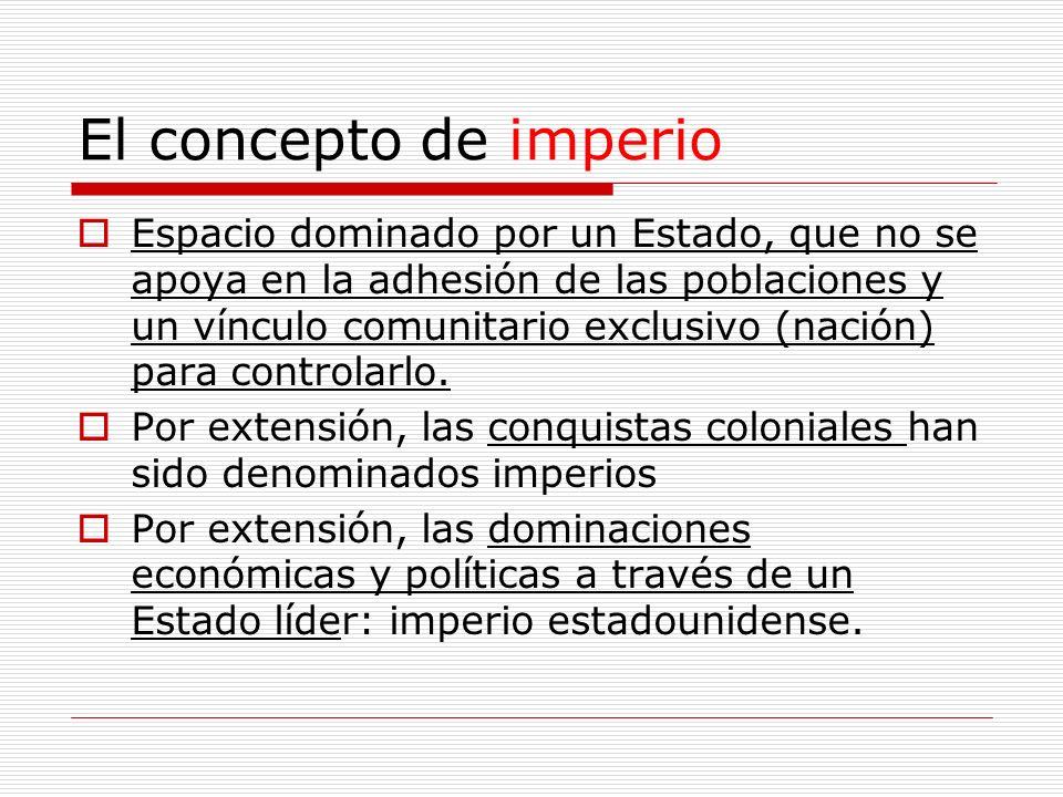 El concepto de imperio