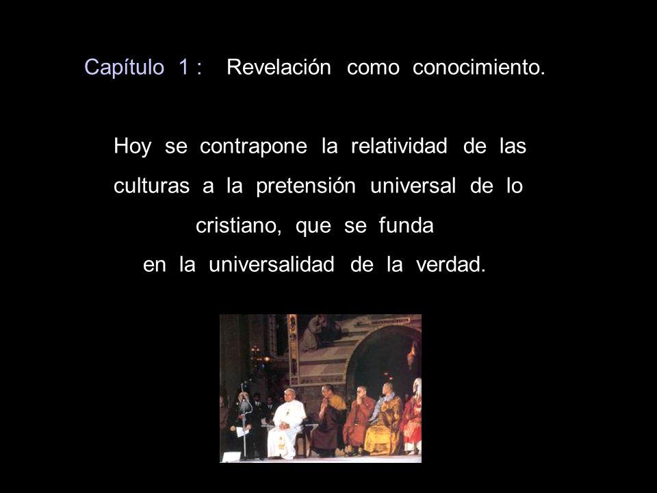 Capítulo 1 : Revelación como conocimiento.