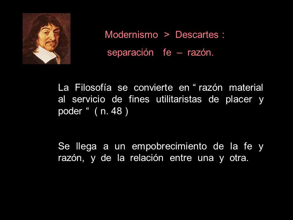 Modernismo > Descartes :