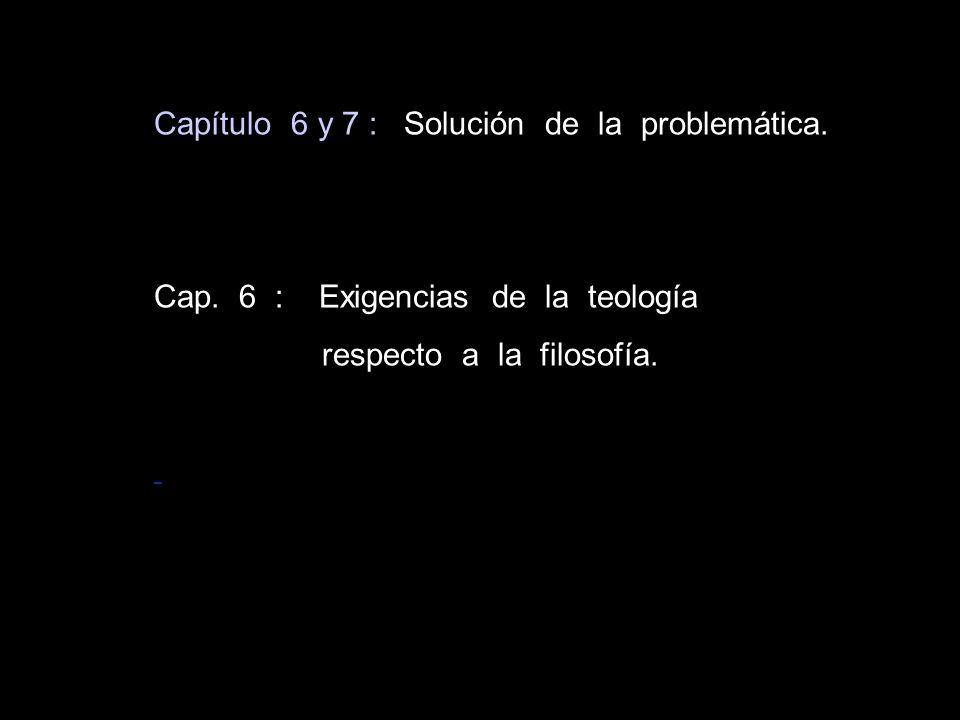 Capítulo 6 y 7 : Solución de la problemática.