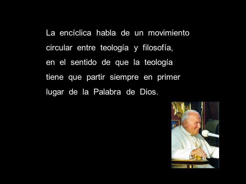 La encíclica habla de un movimiento