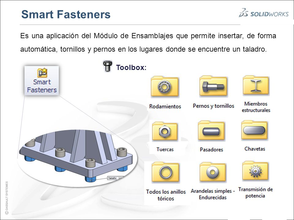 how to use smart fasteners in solidworks
