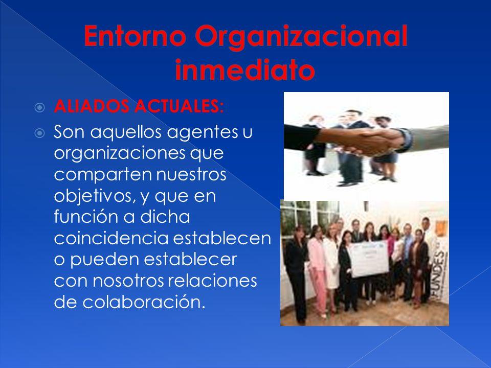 Entorno Organizacional inmediato