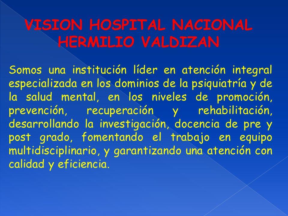 VISION HOSPITAL NACIONAL