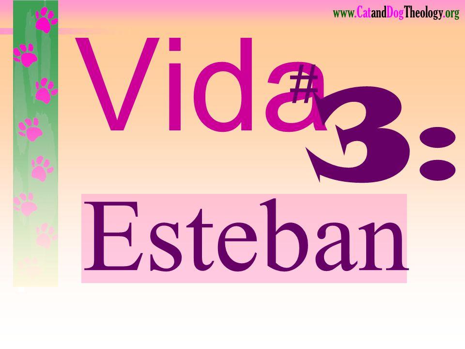 Vida # 3: Esteban Lea.