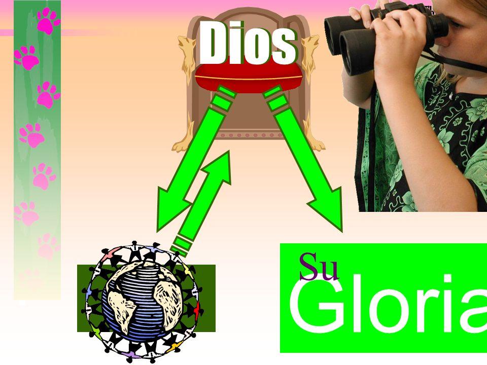 Gloria Dios Su IncorrectA