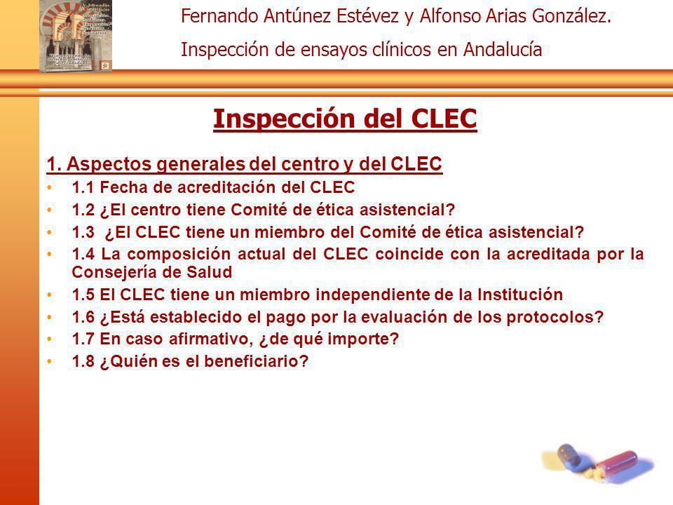 Inspección del CLEC 1. Aspectos generales del centro y del CLEC