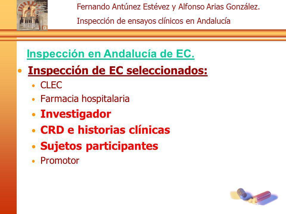 Inspección en Andalucía de EC.
