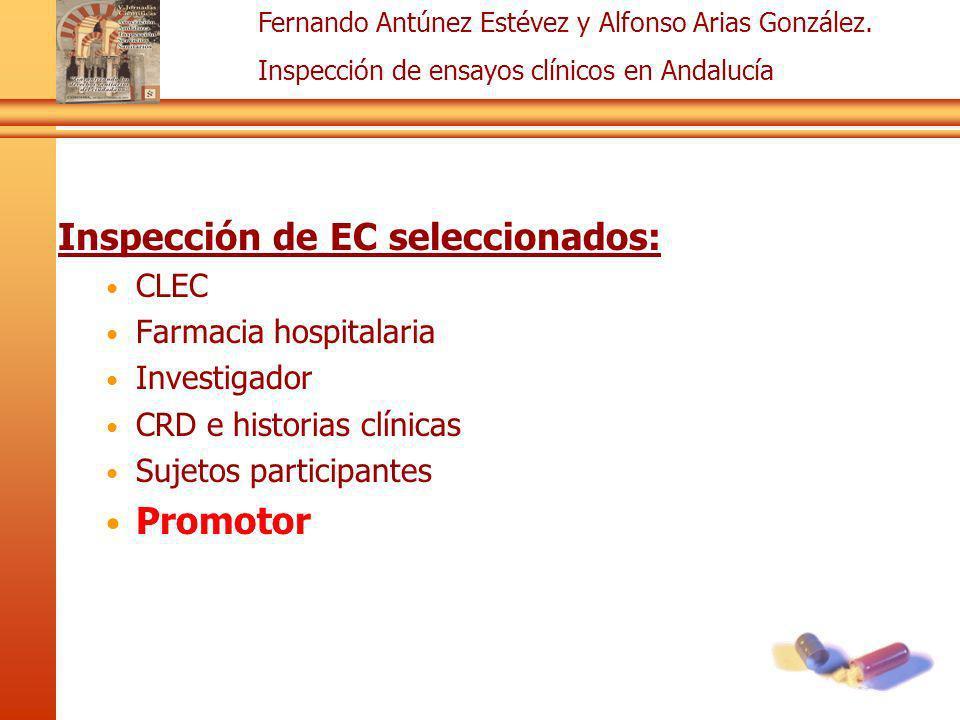 Inspección de EC seleccionados: