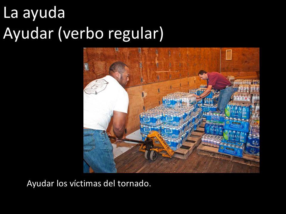 Ayudar (verbo regular)