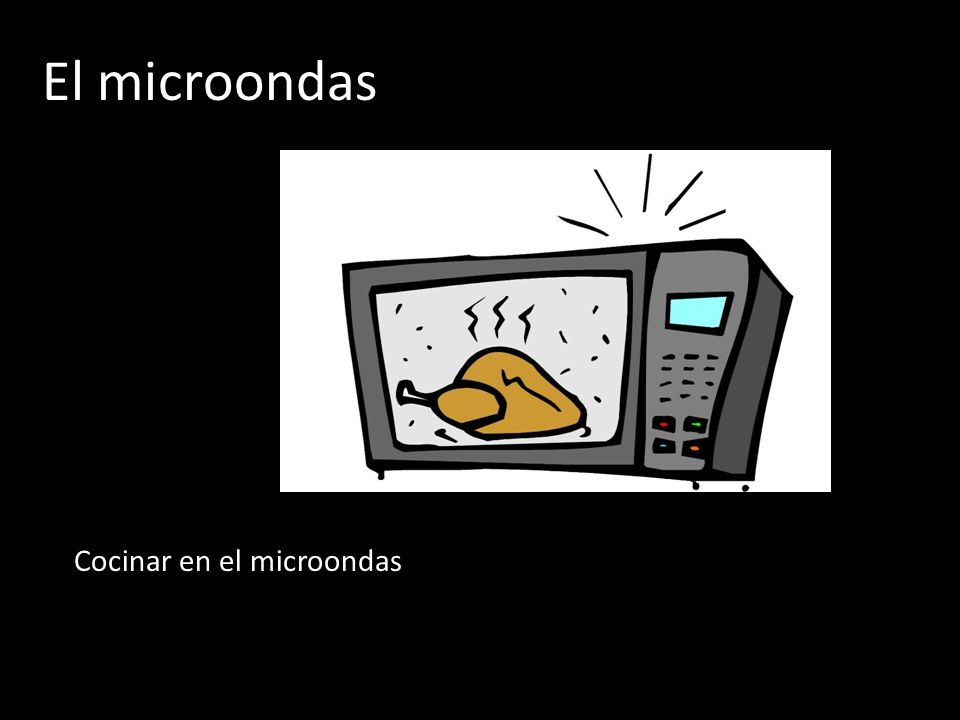 Hacer to do qu est s haciendo t what are you doing - Cocina en el microondas ...