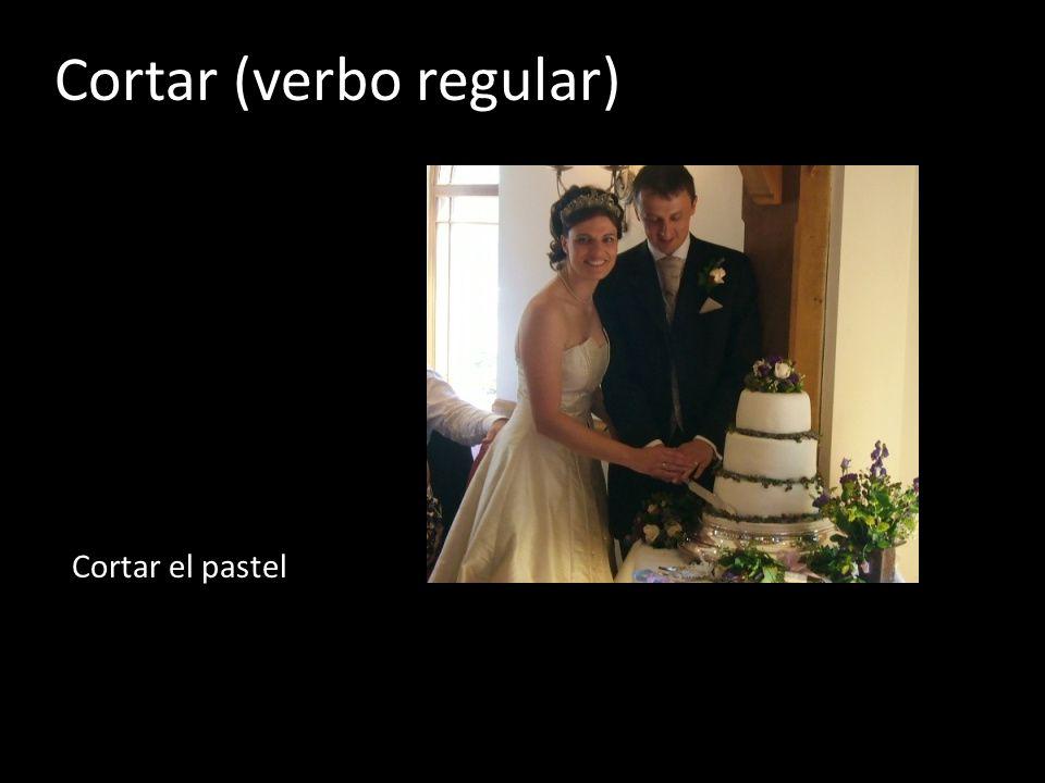 Cortar (verbo regular)