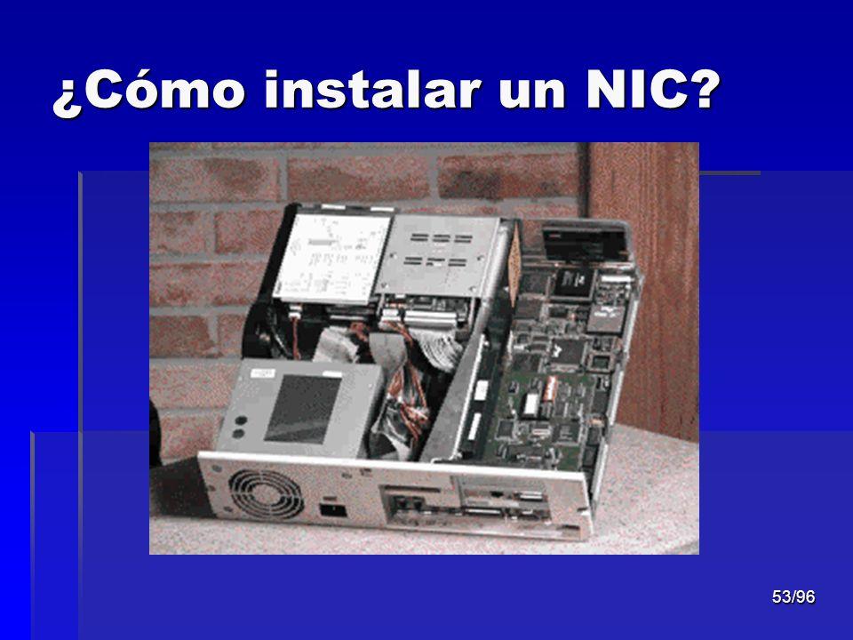 ¿Cómo instalar un NIC