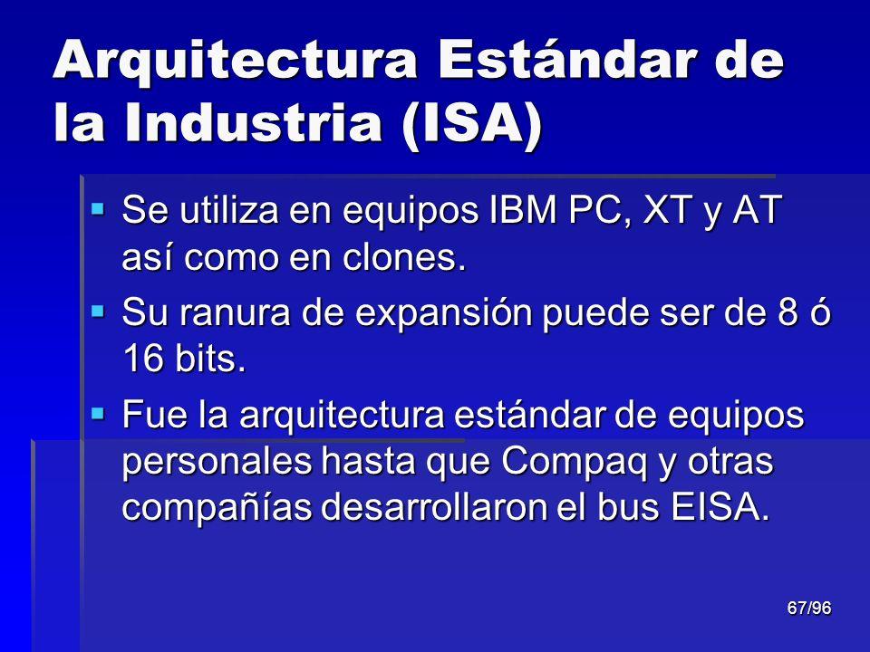 Arquitectura Estándar de la Industria (ISA)