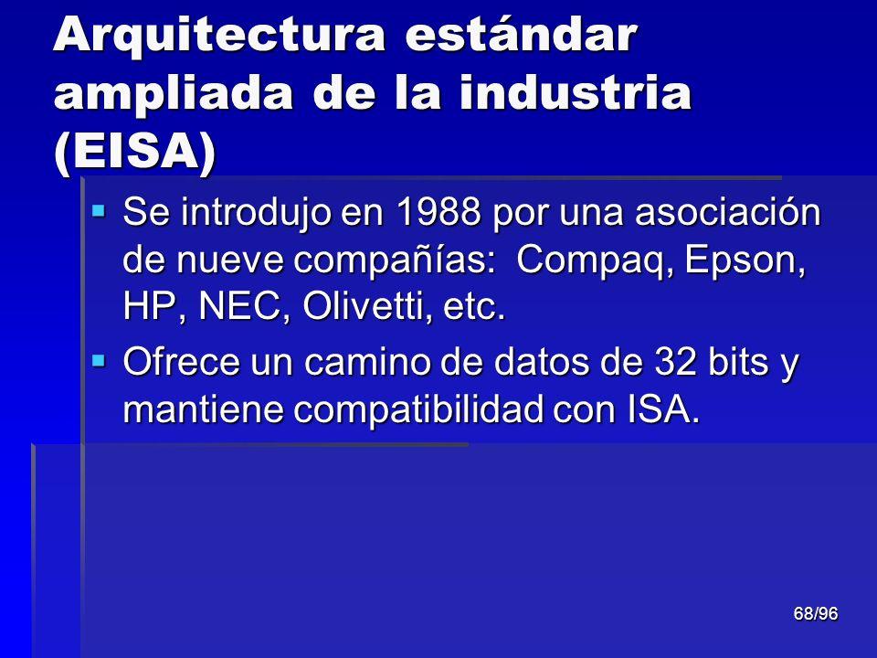 Arquitectura estándar ampliada de la industria (EISA)
