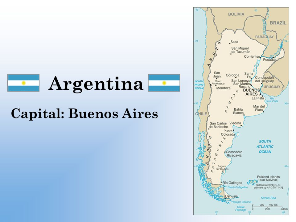 Argentina Capital: Buenos Aires