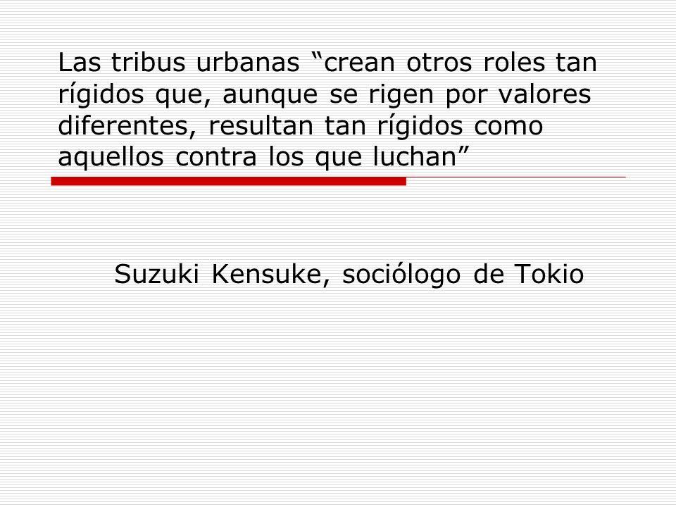 Suzuki Kensuke, sociólogo de Tokio