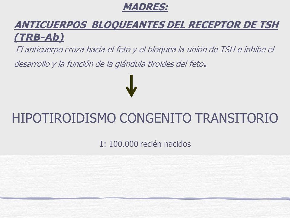 HIPOTIROIDISMO CONGENITO TRANSITORIO