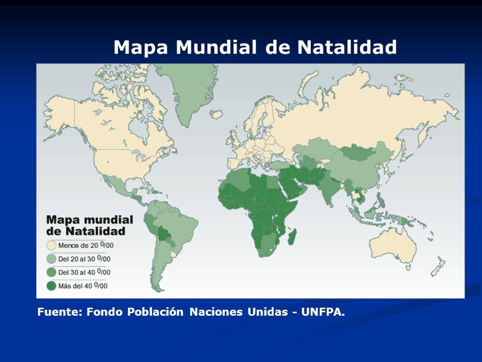 Mapa Mundial de Natalidad