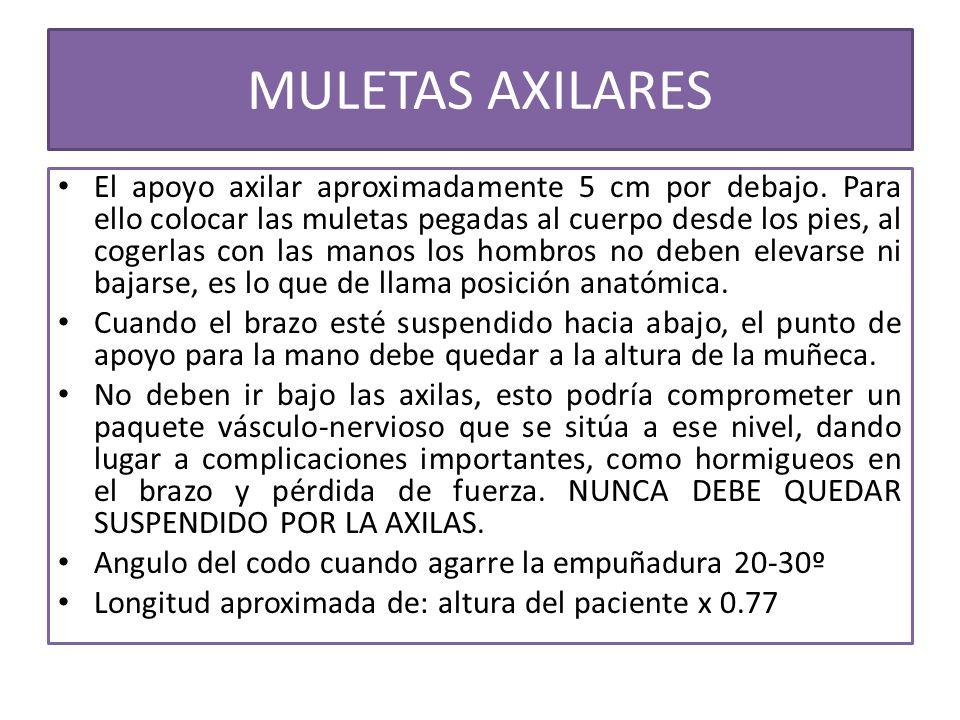 MULETAS AXILARES