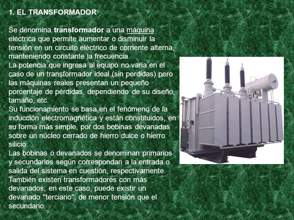 1. EL TRANSFORMADOR