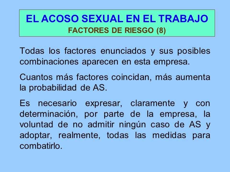 EL ACOSO SEXUAL EN EL LUGAR DE TRABAJO - lclaaorg
