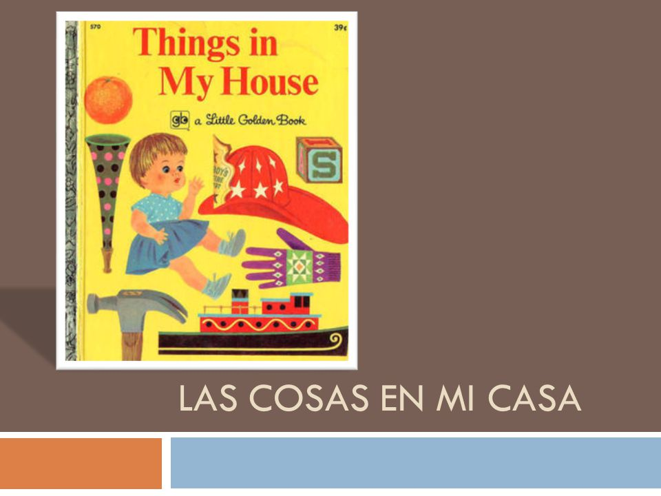 Espa ol 2 unidad 1 vocabulario a y b ppt video online for Mi casa cosas de casa